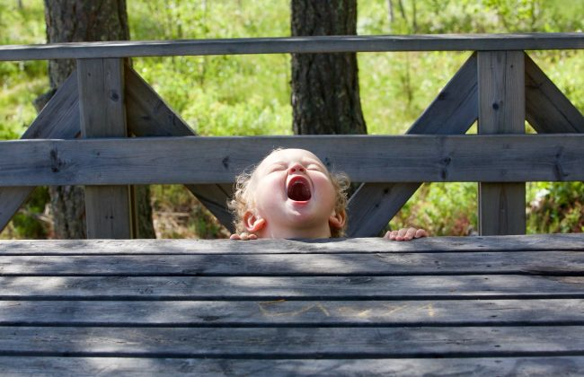 kid scream